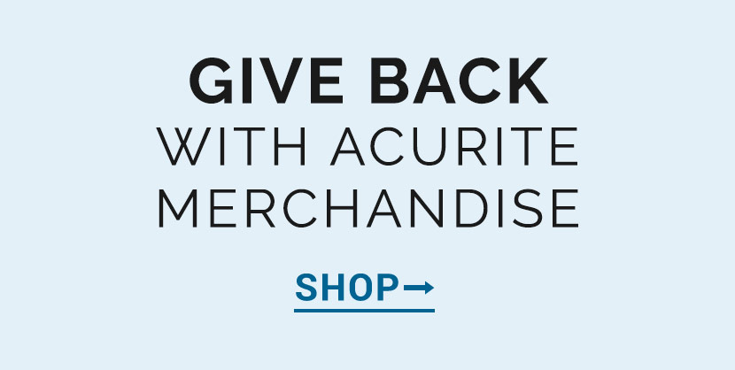 Give Back With AcuRIte Merchandise | AcuRite Weather