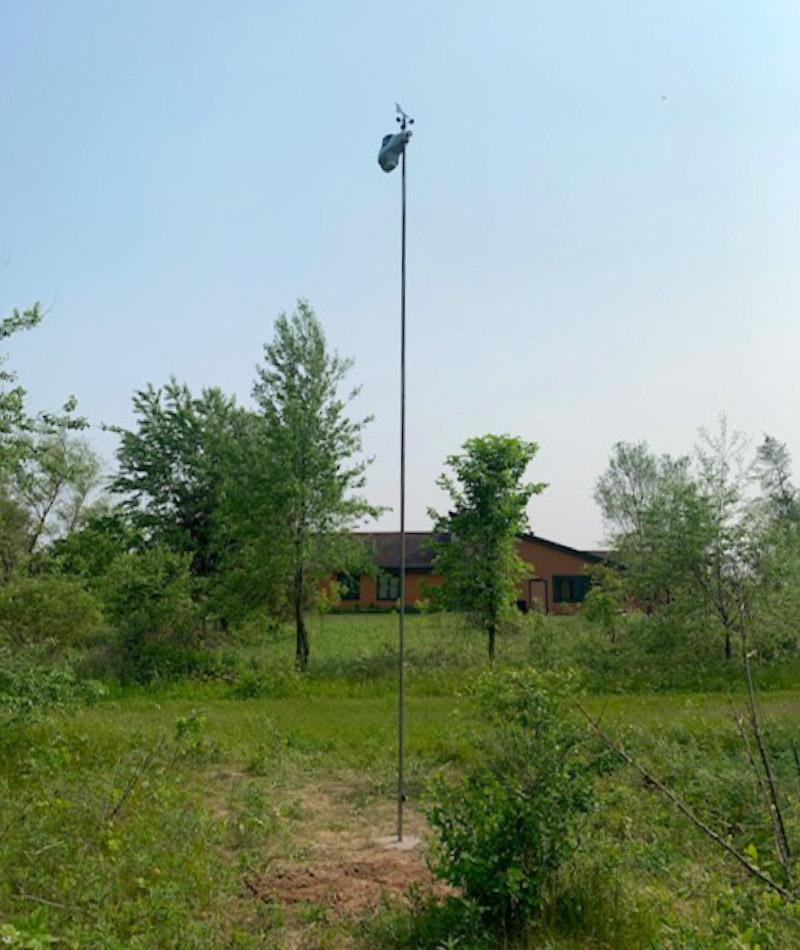AcuRite Atlas mounted in school yard