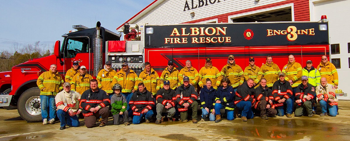 Albion Fire Rescue Engine 3