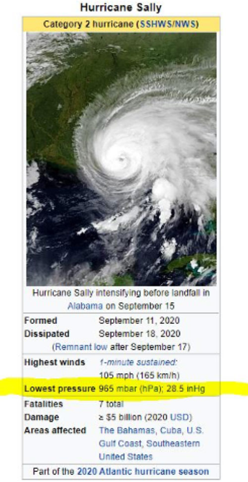 Hurricane Sally